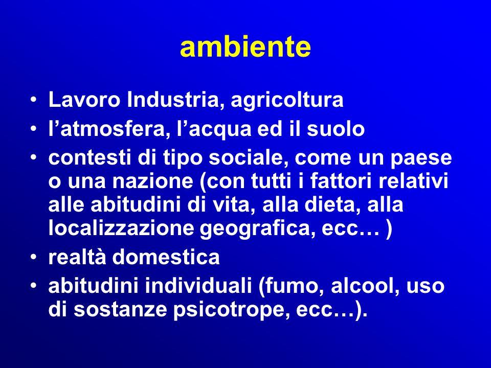 ambiente Lavoro Industria, agricoltura l'atmosfera, l'acqua ed il suolo contesti di tipo sociale, come un paese o una nazione (con tutti i fattori rel