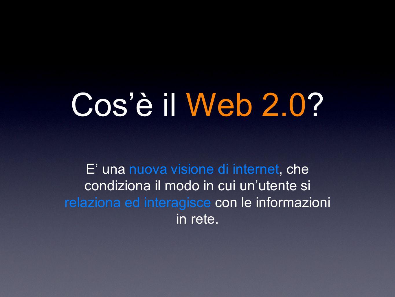 Cos'è il Web 2.0.