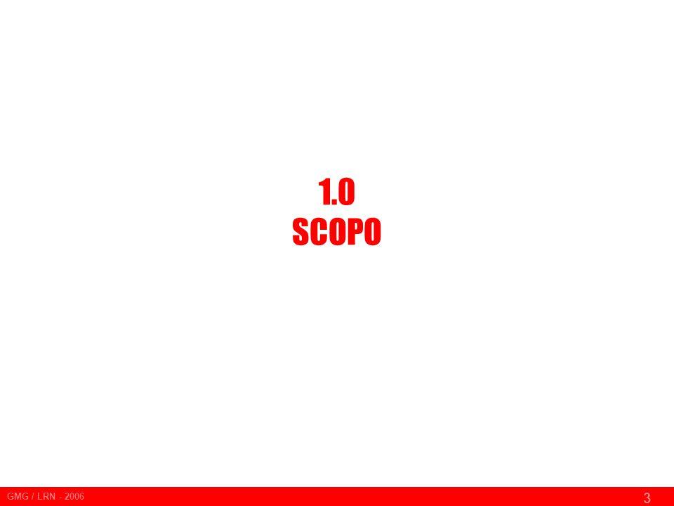 GMG / LRN - 2006 3 1.0 SCOPO