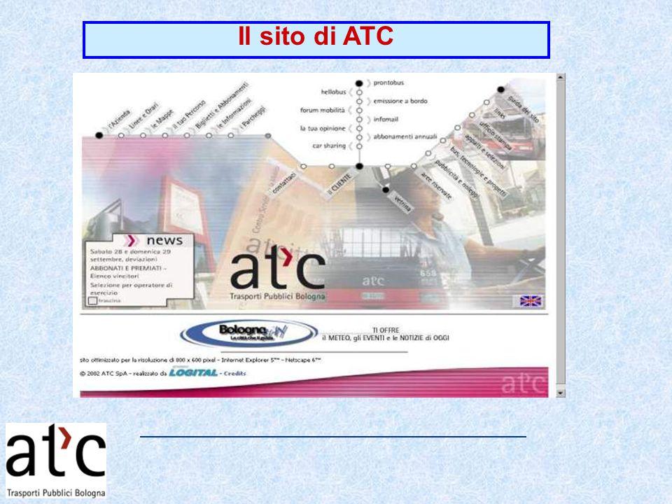 Il sito di ATC