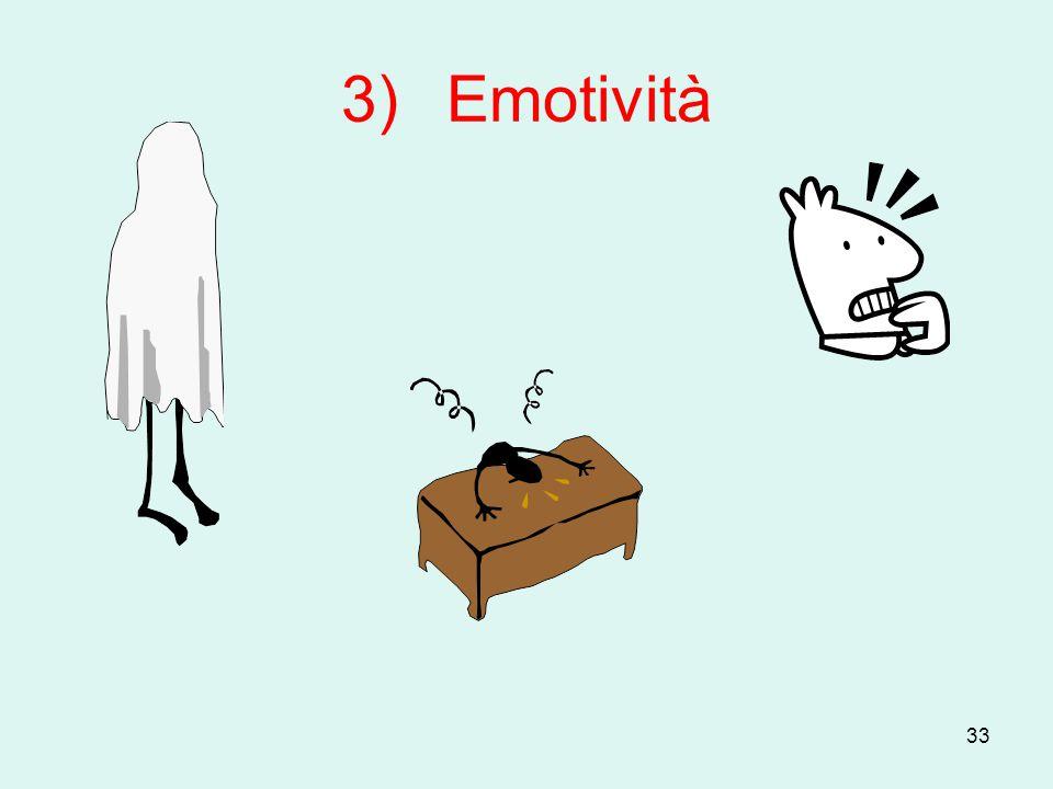 33 3)Emotività