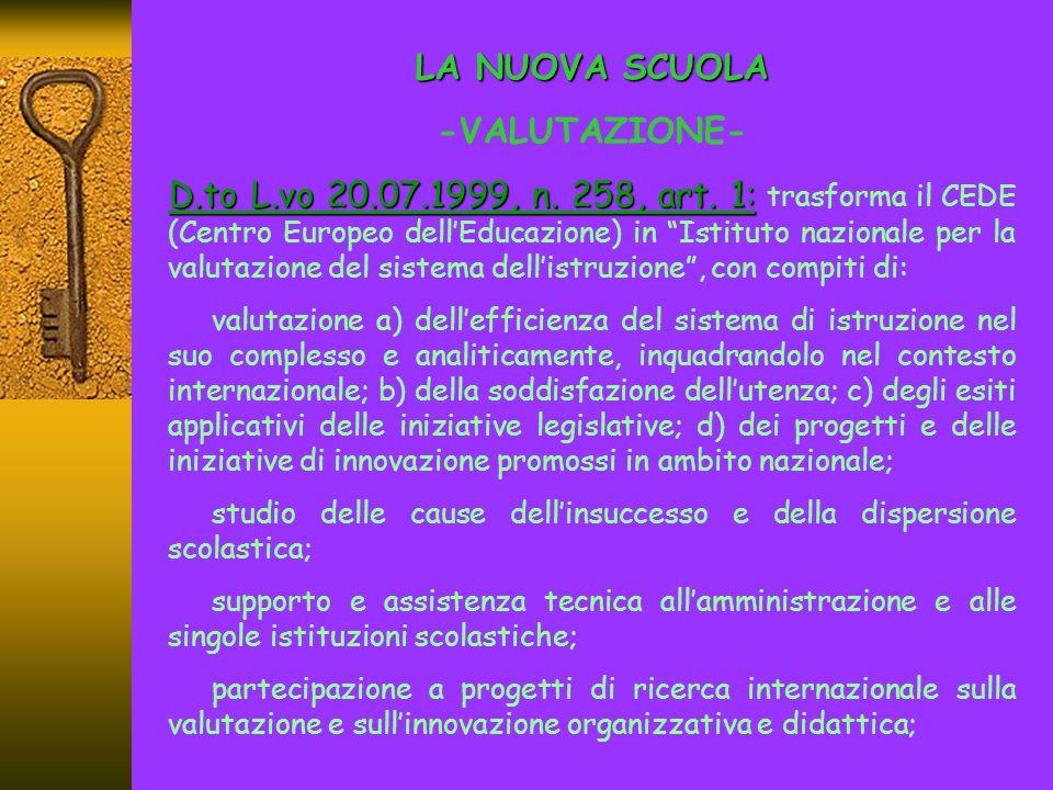 LA VALUTAZIONE - -NORMATIVA: D.to Leg.vo n.59/2004 ART.8 (Scuola Primaria) ART.8 (Scuola Primaria): 1.