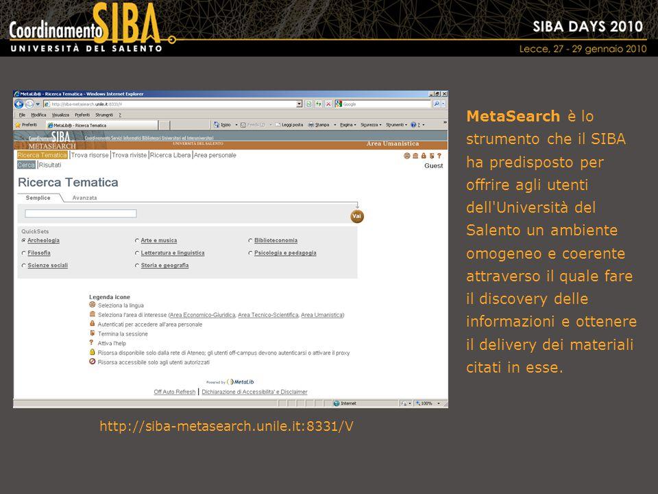 L'X-Server di Gli utenti vogliono trovare l'informazione quando ne hanno bisogno e vogliono ottenere i materiali di loro interesse, ovunque essi siano La metaricerca non è limitata all'ambiente di Con l'X-Server è possibile incorporare le funzionalità di metaricerca di all'interno di altre applicazioni Pagine web della biblioteca e portali istituzionali CMS