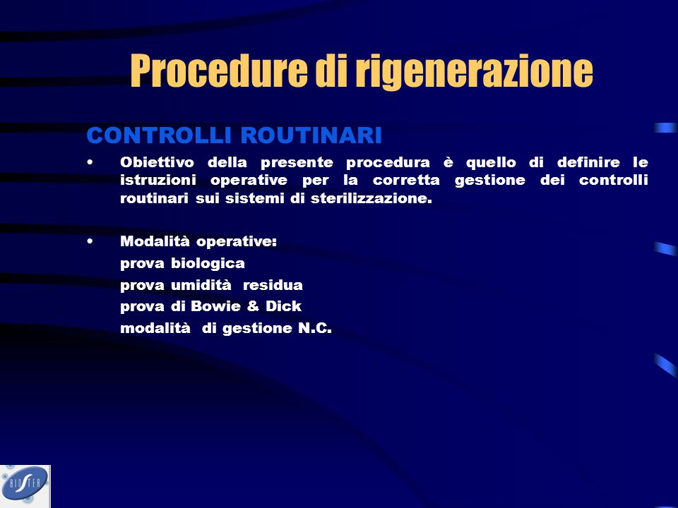 CONTROLLI ROUTINARI Obiettivo della presente procedura è quello di definire le istruzioni operative per la corretta gestione dei controlli routinari s