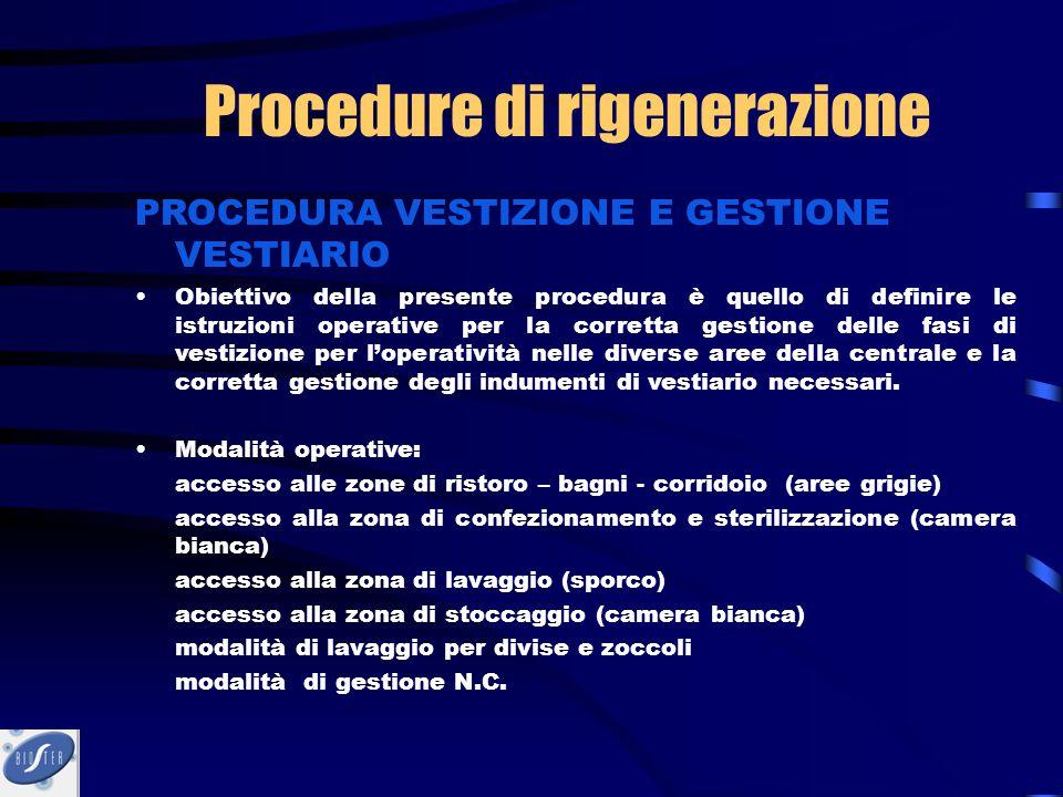PROCEDURA VESTIZIONE E GESTIONE VESTIARIO Obiettivo della presente procedura è quello di definire le istruzioni operative per la corretta gestione del