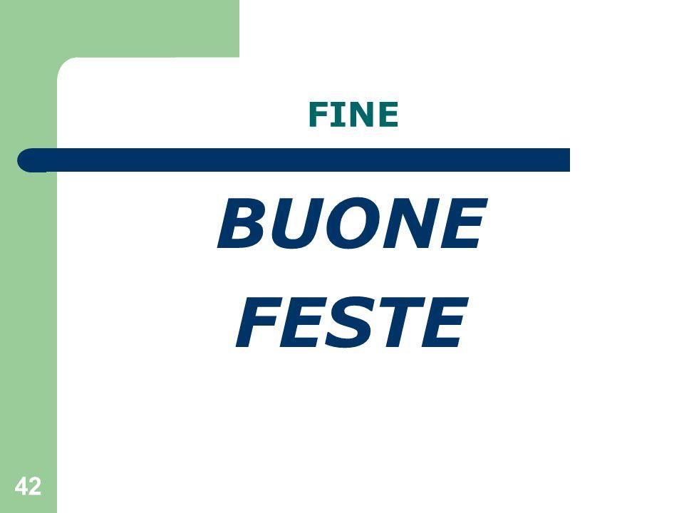 42 FINE BUONE FESTE