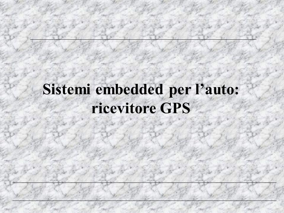 Sistemi embedded per l'auto: ricevitore GPS