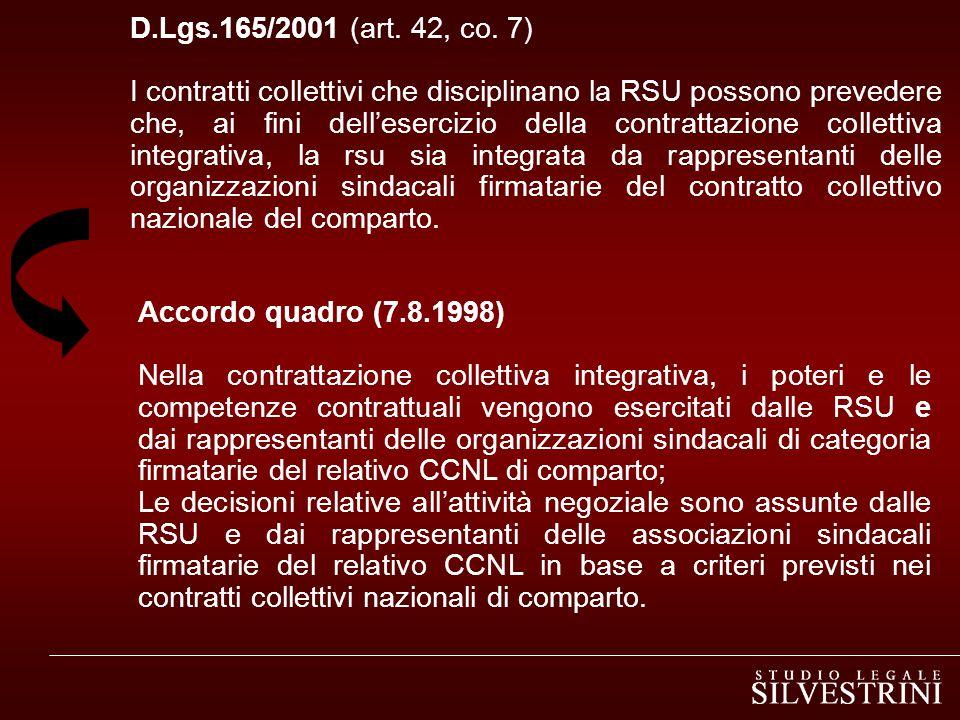 D.Lgs.165/2001 (art.42, co.