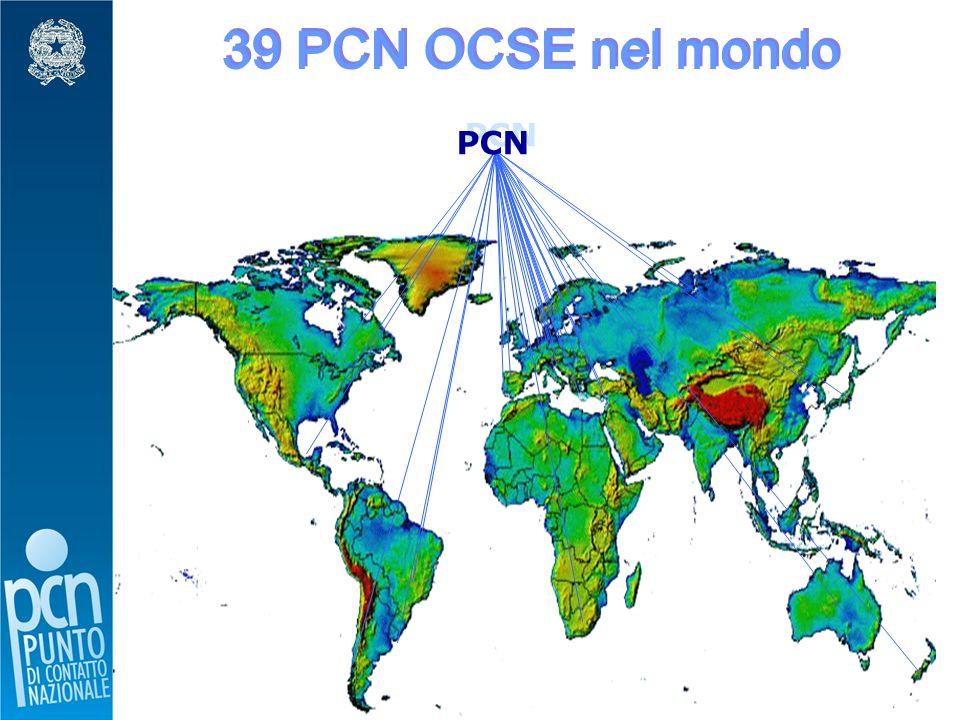 5 39 PCN OCSE nel mondo PCN