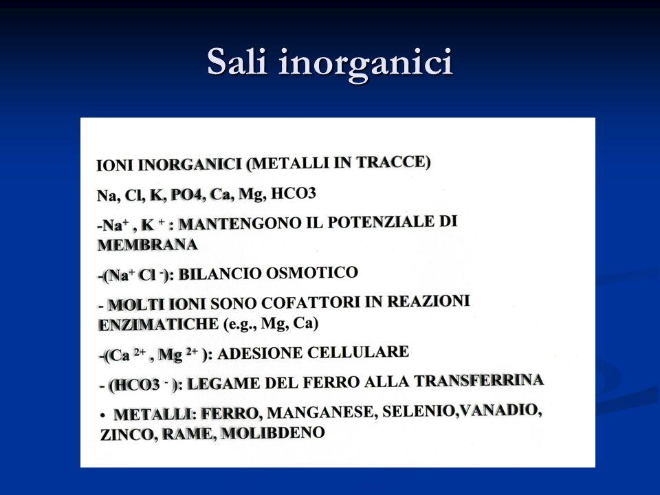 Sali inorganici