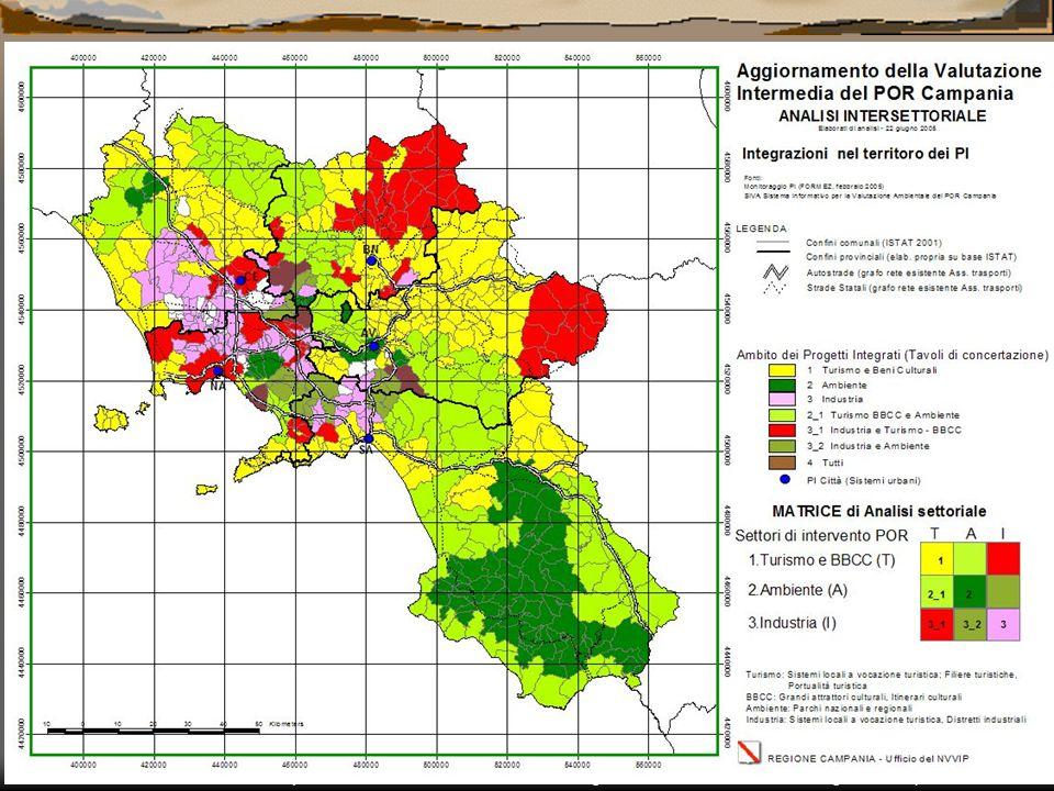 Carmelina Bevilacqua – Nucleo di Valutazione e Verifica degli Investimenti Pubblici della Regione Campania Appendix III: GIS