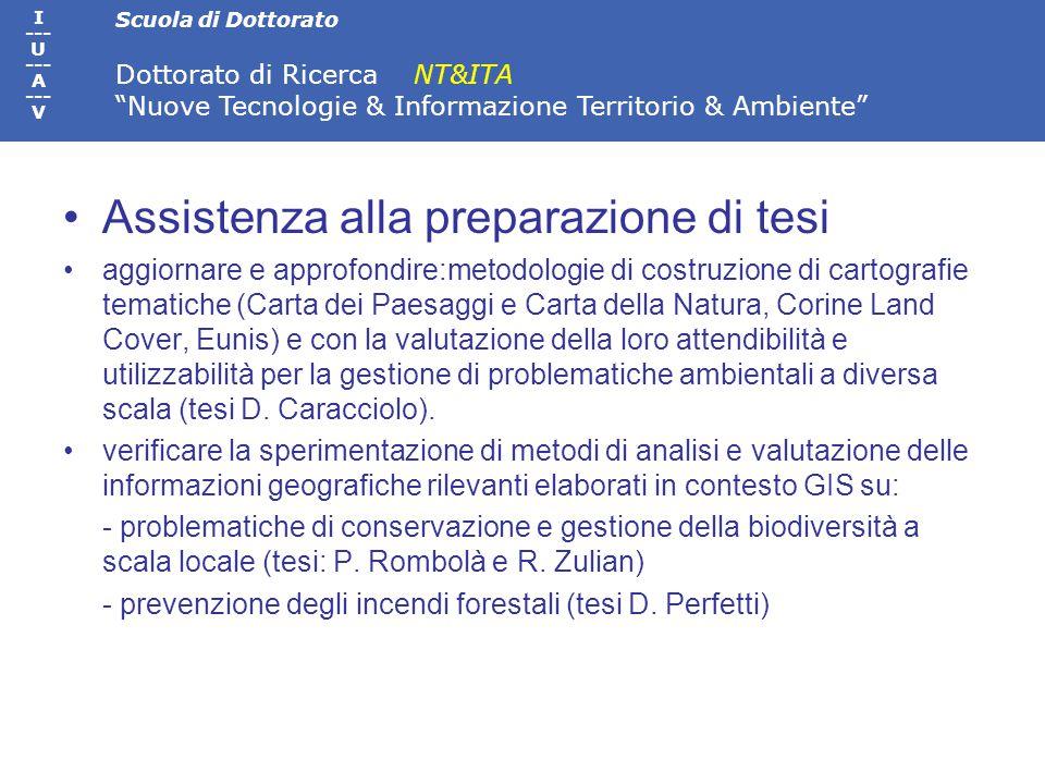 Scuola di Dottorato Dottorato di Ricerca NT&ITA Nuove Tecnologie & Informazione Territorio & Ambiente I --- U --- A --- V Seminari tematici e conferenze Stefano Rodotà (Università di Roma).