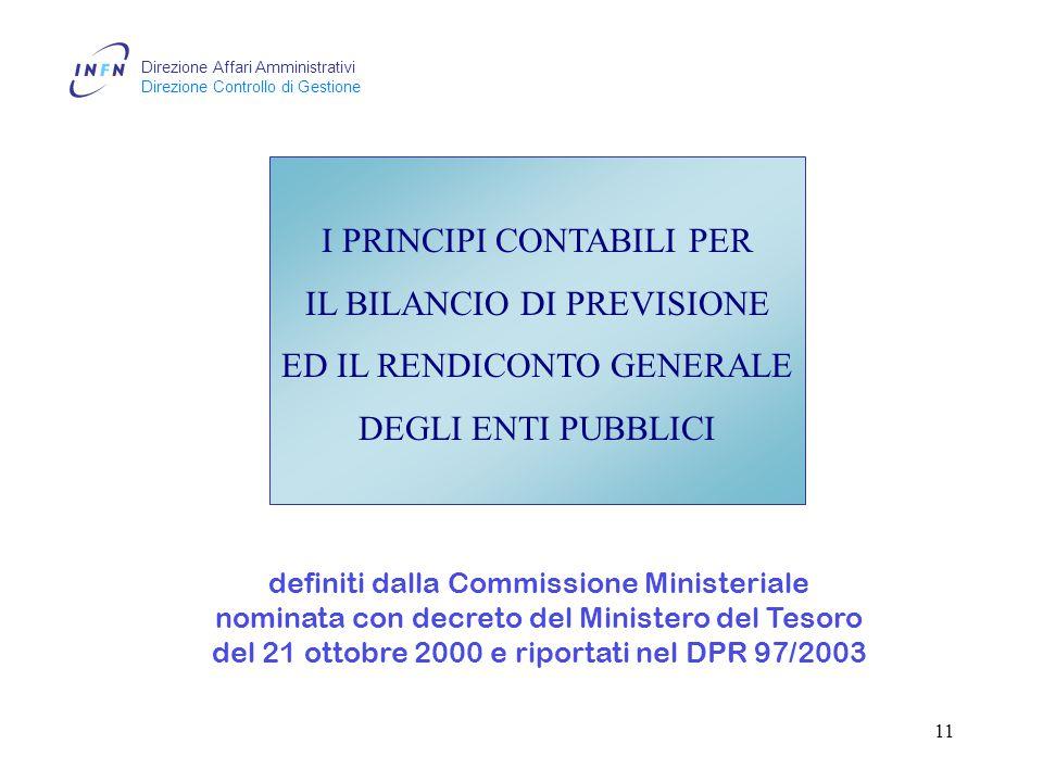 Direzione Affari Amministrativi Direzione Controllo di Gestione 10 Stralcio circolare MEF n.