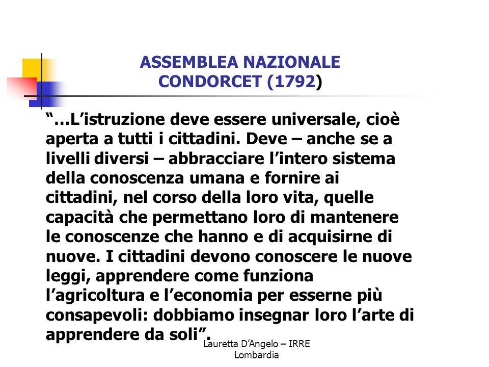 Lauretta D'Angelo – IRRE Lombardia C.