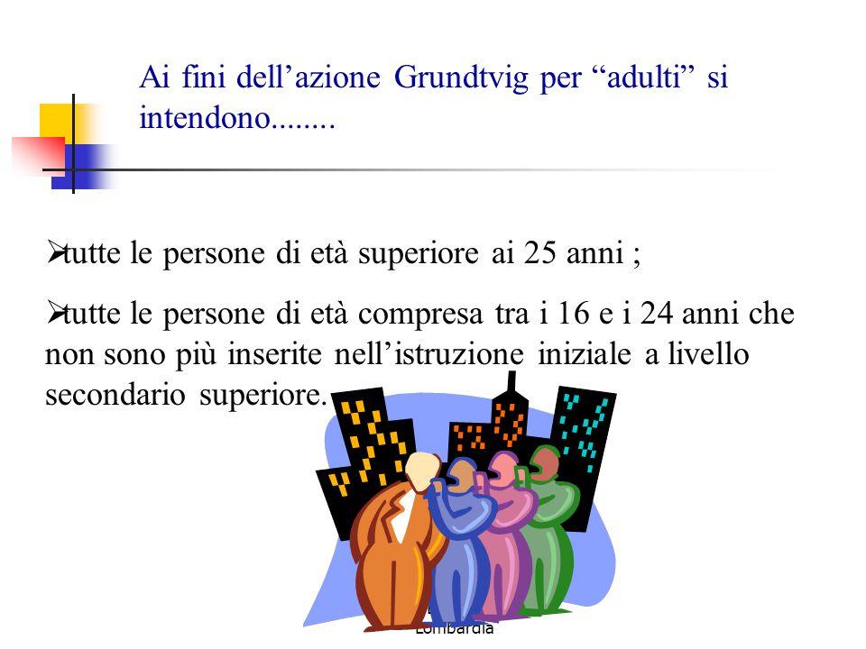 Lauretta D'Angelo – IRRE Lombardia  tutte le persone di età superiore ai 25 anni ;  tutte le persone di età compresa tra i 16 e i 24 anni che non so