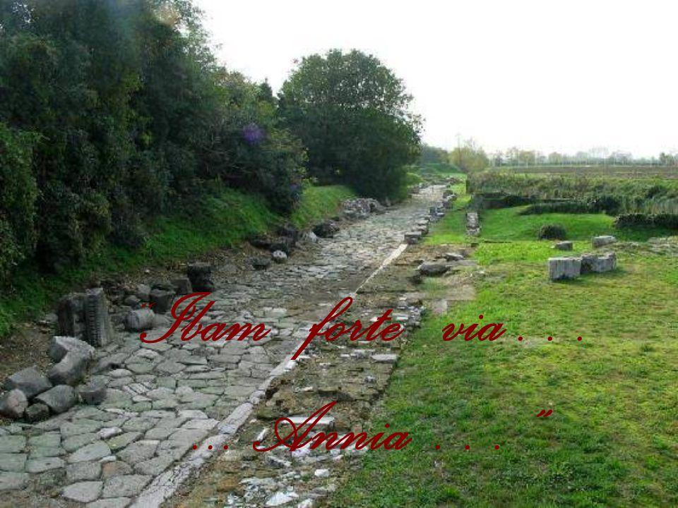 LA VIA ANNIA L 'altra grande via consolare che interessava Concordia era la via Annia.