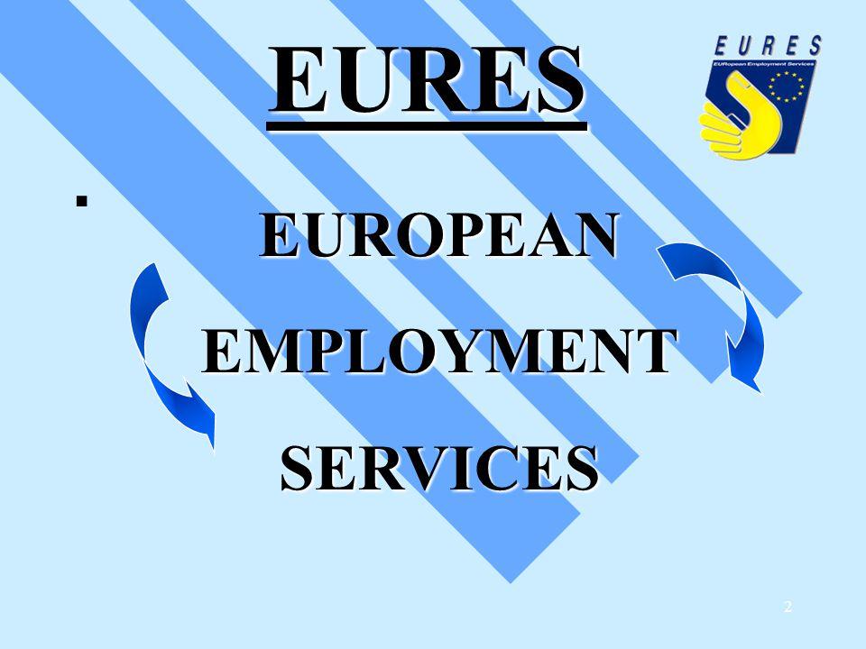2 EURES EURES EUROPEANEMPLOYMENTSERVICES 