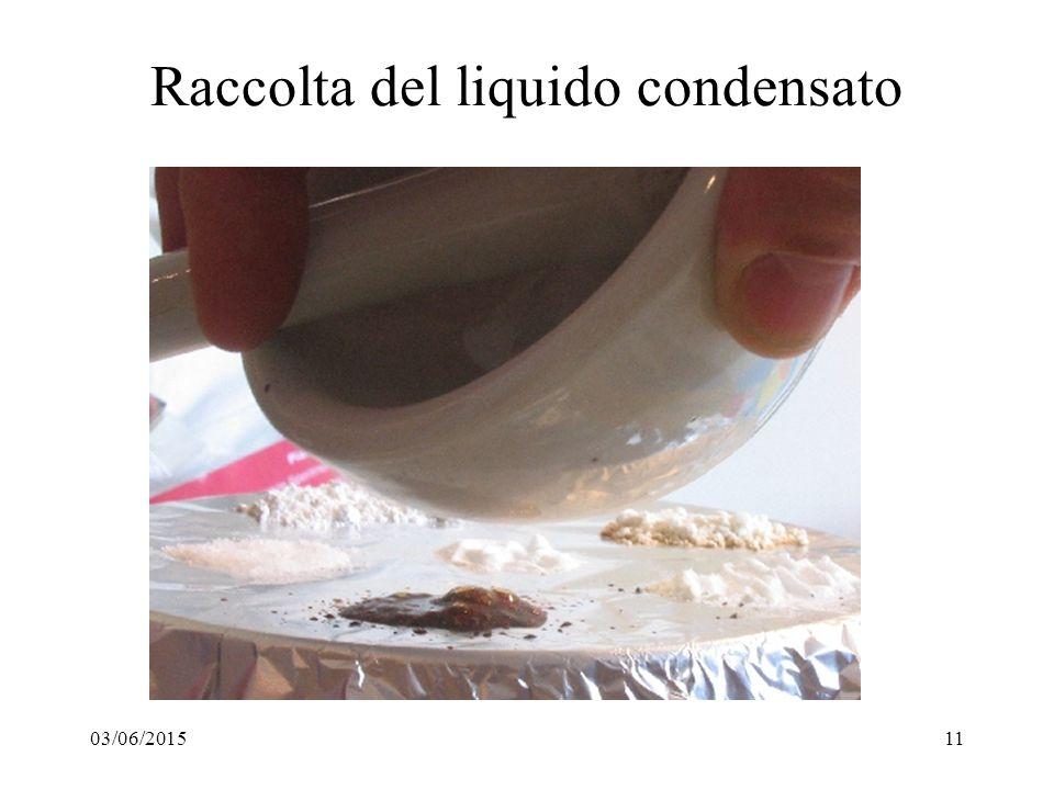 03/06/201511 Raccolta del liquido condensato