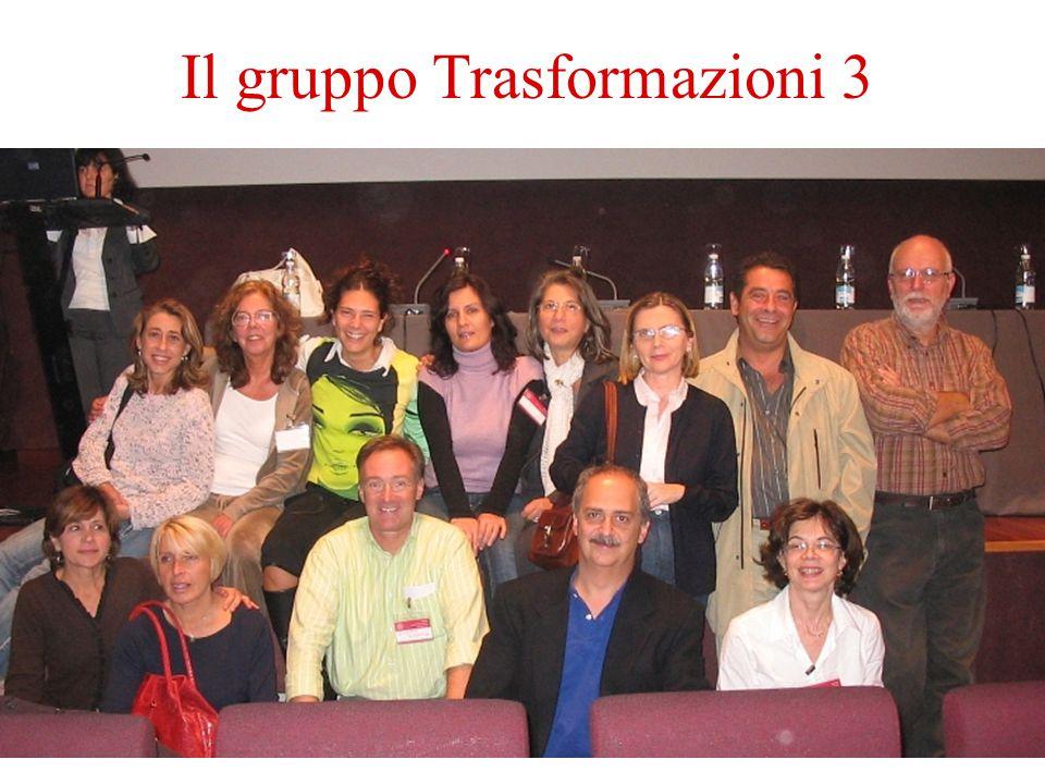 03/06/201520 Il gruppo Trasformazioni 3