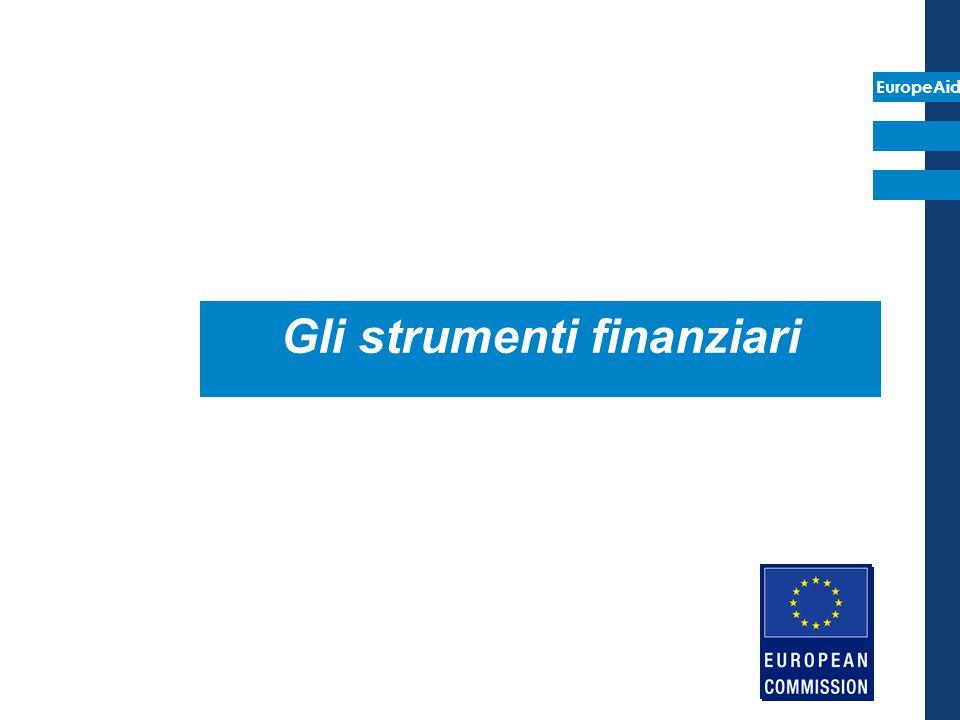EuropeAid Gli strumenti finanziari