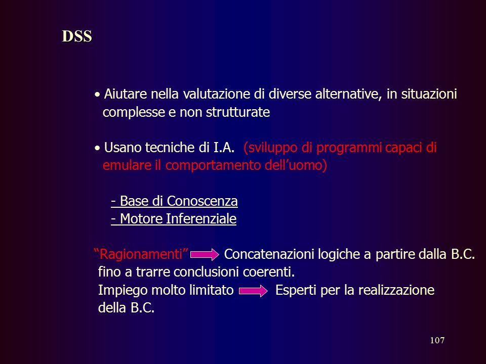 106 Office Automation Strumenti software di elaborazione e comunicazione (P.C., LAN), che si possono classificare : 1) Gestione Comunicazione (Posta E