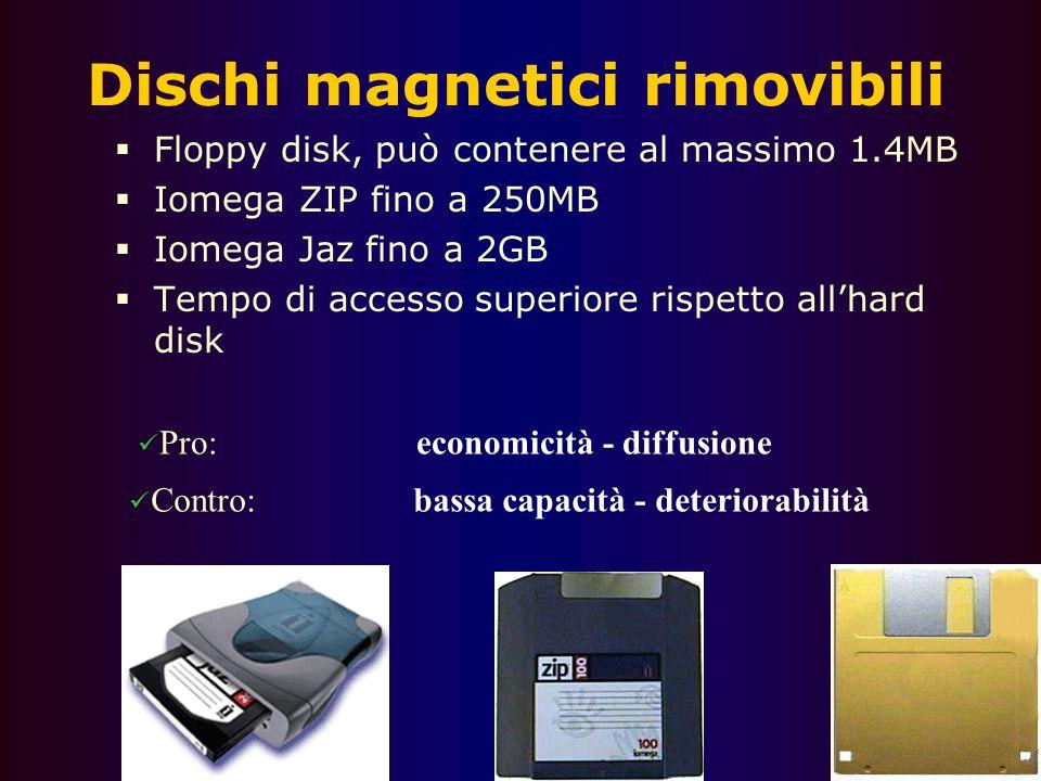 """57 Disco rigido  Ha componenti meccanici  Un disco ricoperto di sostanza magnetica che gira a velocità vertiginosa  Una testina di lettura che """"gal"""