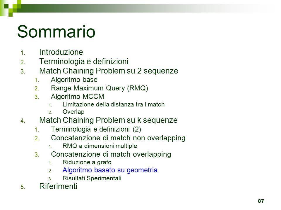 87 Sommario 1.Introduzione 2. Terminologia e definizioni 3.