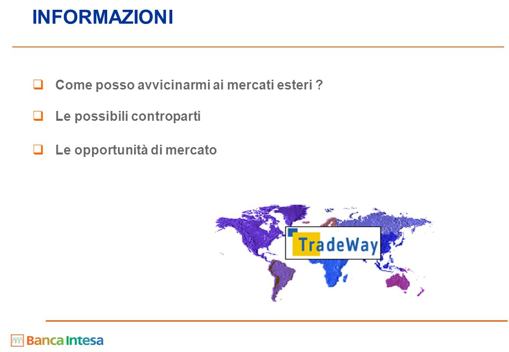 20 - Contenuti - Contenuti Il contesto competitivo delle PMI I pilastri dell'offerta di Banca Intesa Intesa Nova Intesa Senza Confini Intesa Brand Intesa Basilea Intesa Eurodesk