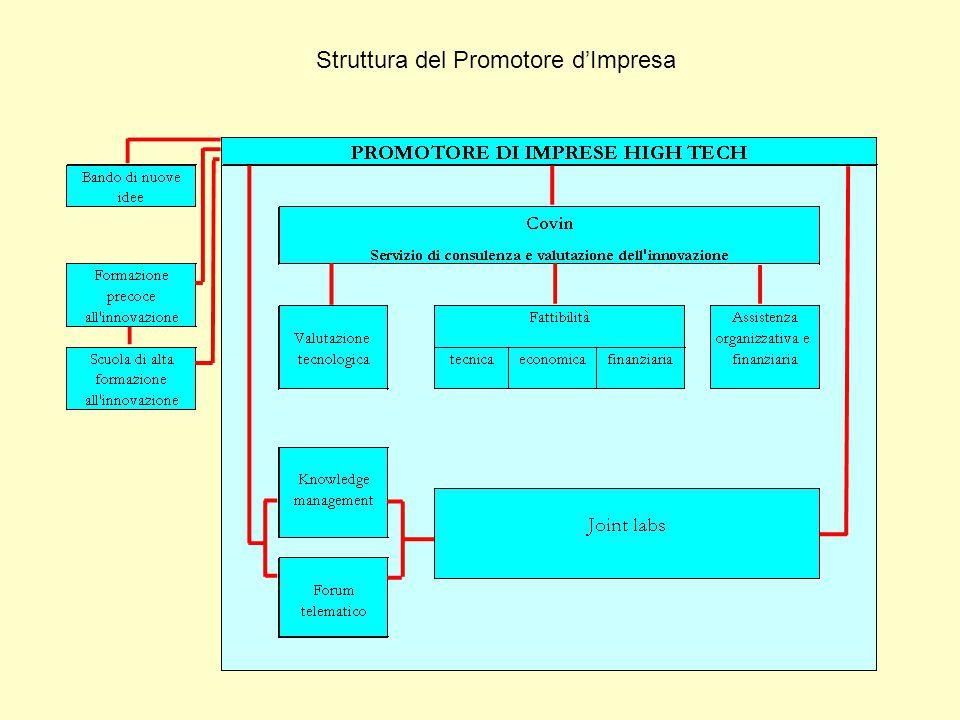 Struttura del Promotore d'Impresa