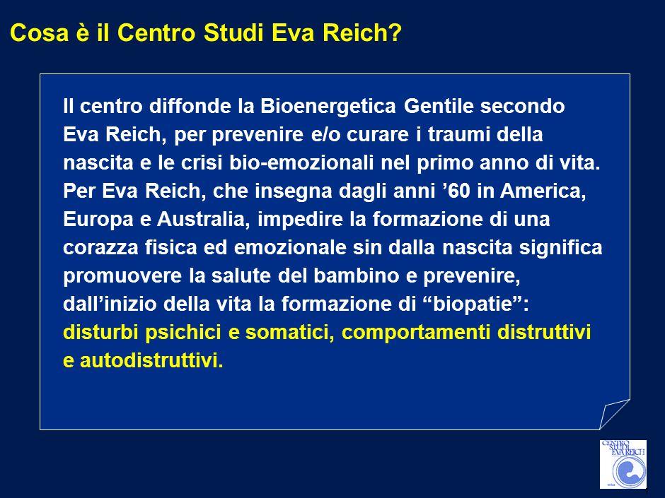 1 Cosa è il Centro Studi Eva Reich.
