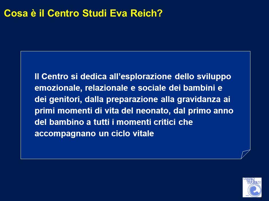 2 Cosa è il Centro Studi Eva Reich.