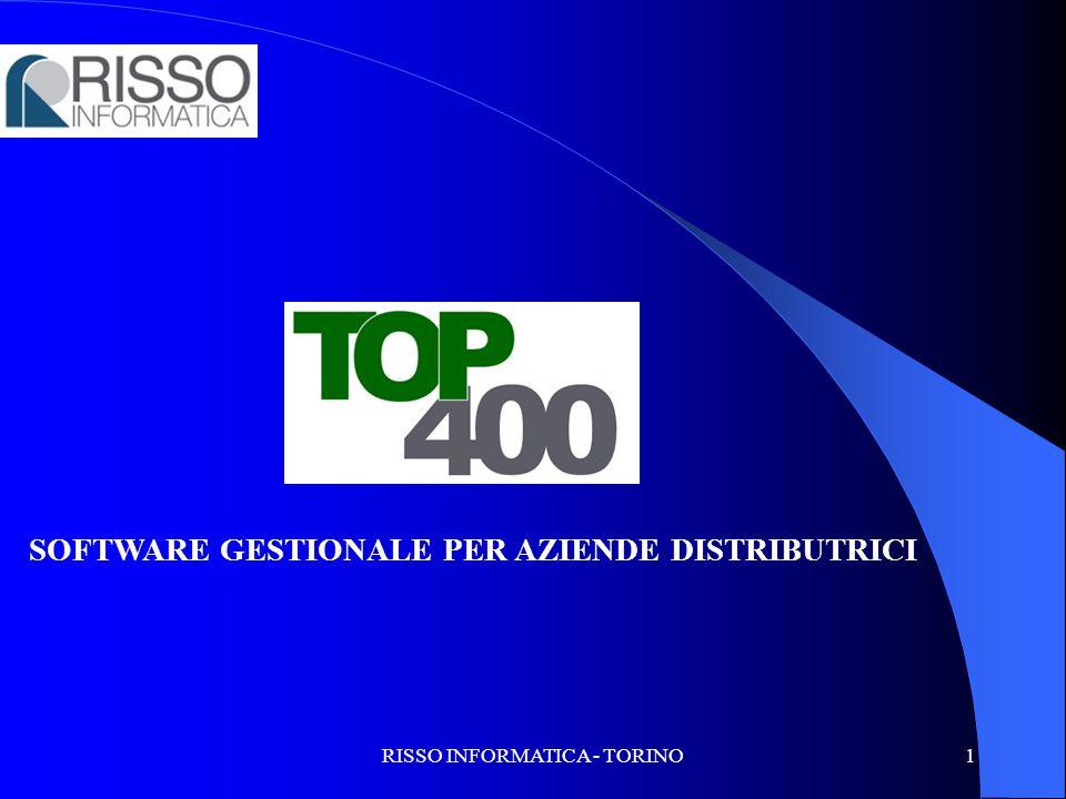 RISSO INFORMATICA - TORINO1 SOFTWARE GESTIONALE PER AZIENDE DISTRIBUTRICI