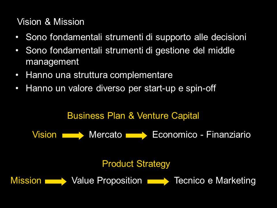 Sono fondamentali strumenti di supporto alle decisioni Sono fondamentali strumenti di gestione del middle management Hanno una struttura complementare