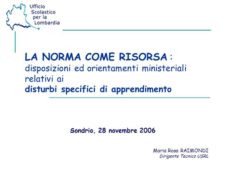 Sondrio, 28 novembre 2006 2 ...