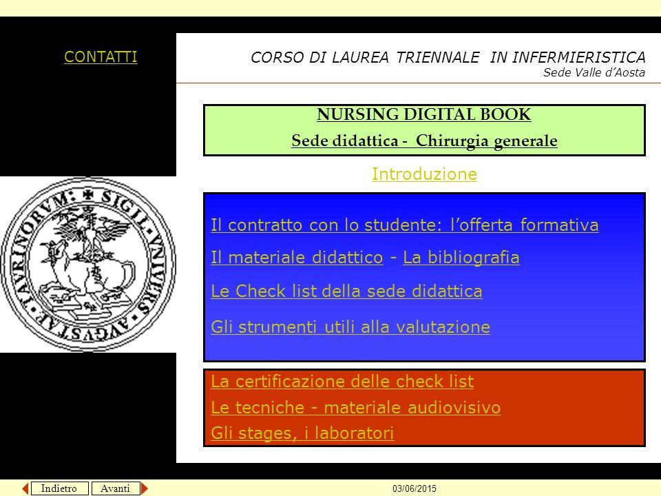 LE CHECK LIST DELLA SEDE DIDATTICA HOME PAGE http://medtriennaliao.campusnet.unito.it/didattica/att/6b59.0432.file.doc http://medtriennaliao.campusnet.unito.it/didattica/att/d731.0470.file.doc 1° ANNO 2° ANNO http://medtriennaliao.campusnet.unito.it/didattica/att/0517.0358.file.doc http://medtriennaliao.campusnet.unito.it/didattica/att/617d.8529.file.doc 3° ANNO http://medtriennaliao.campusnet.unito.it/didattica/att/3782.5292.file.doc ARCHIVIO CHECK LIST http://medtriennaliao.campusnet.unito.it/didattica/att/67c5.0241.file.doc