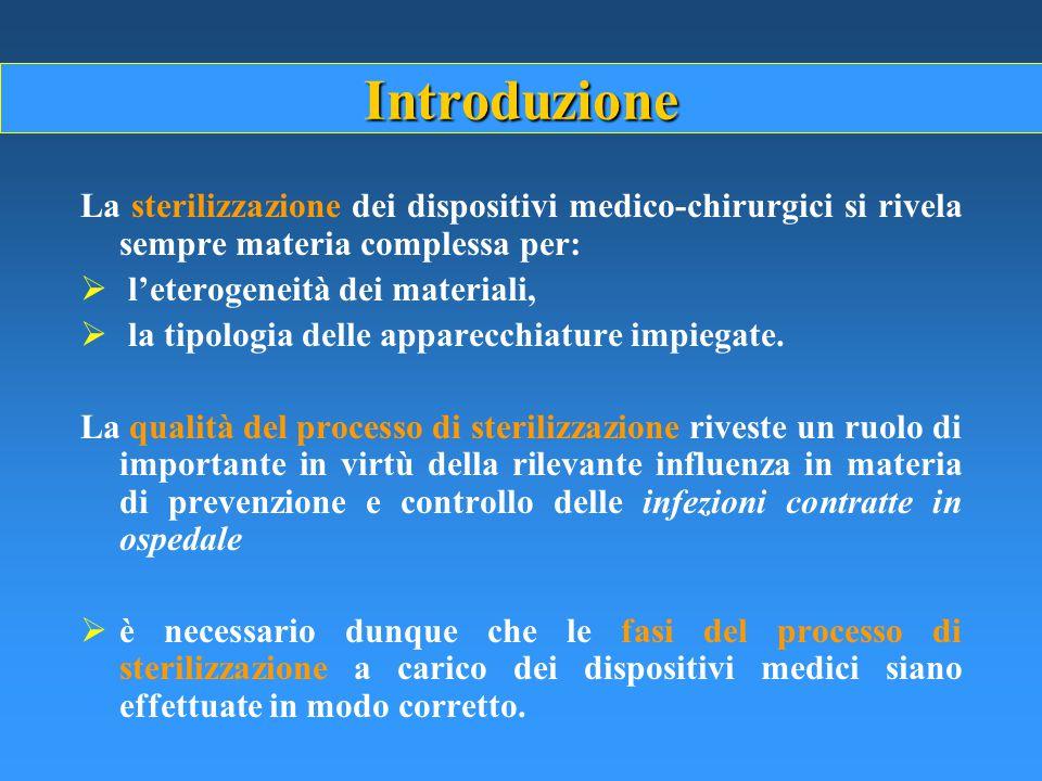 Materiali incompatibili CELLULOSA E DERIVATI: teleria, tessuti, compresse, carta per sterilizzazione OLII LIQUIDI POLVERI STRUMENTI CHE NON SOPPORTANO IL VUOTO STRUMENTI A LUME MOLTO LUNGO E STRETTO ( è prevista l'applicazione di diffusori contenenti H 2 O 2 )