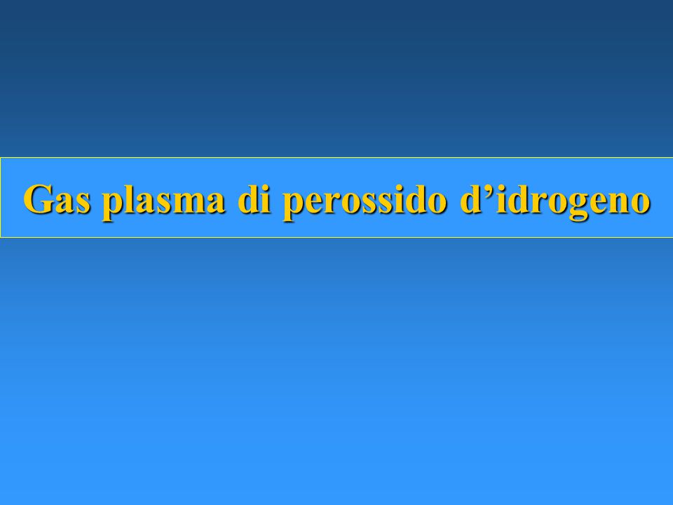 Gas plasma di perossido d'idrogeno