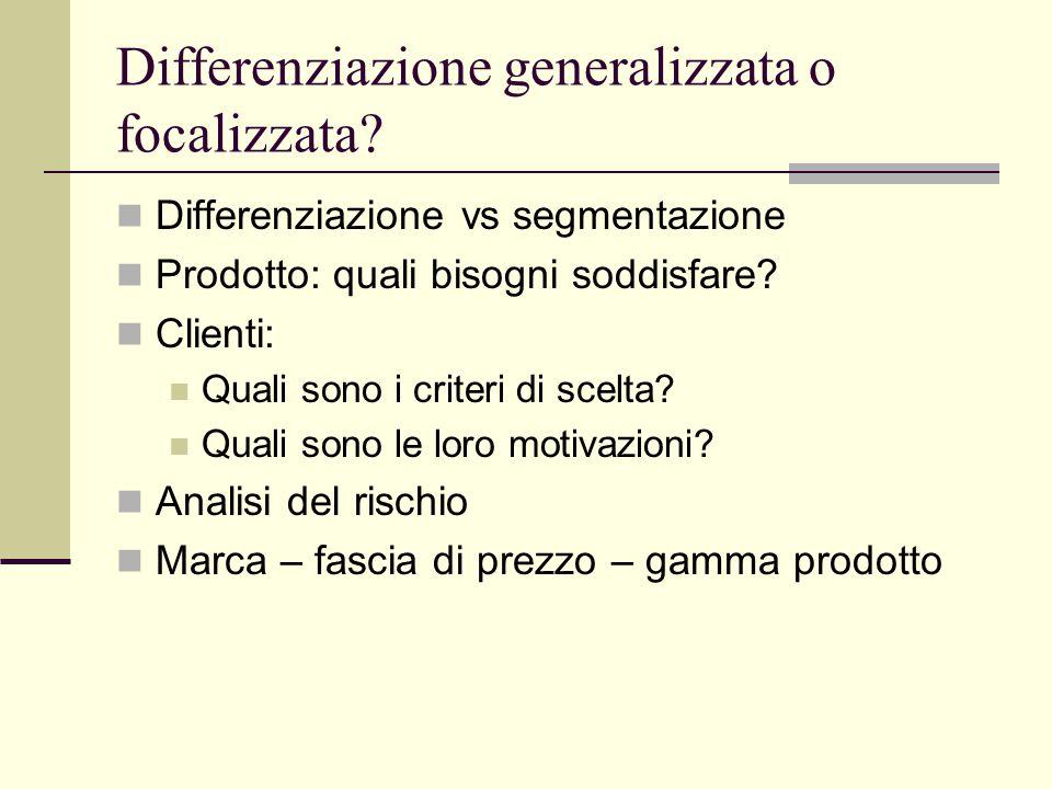 Differenziazione generalizzata o focalizzata.