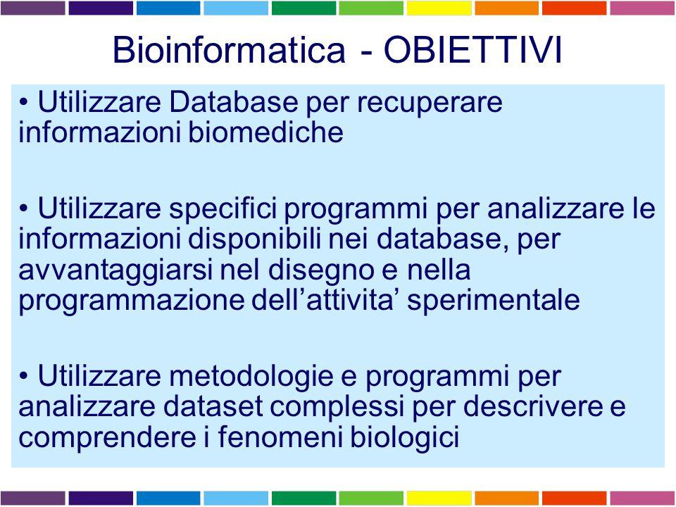 I LEZIONE Database primari e Database secondari Database di sequenze nucleotidiche e proteiche – GenBank – SWISSPROT ENTREZ