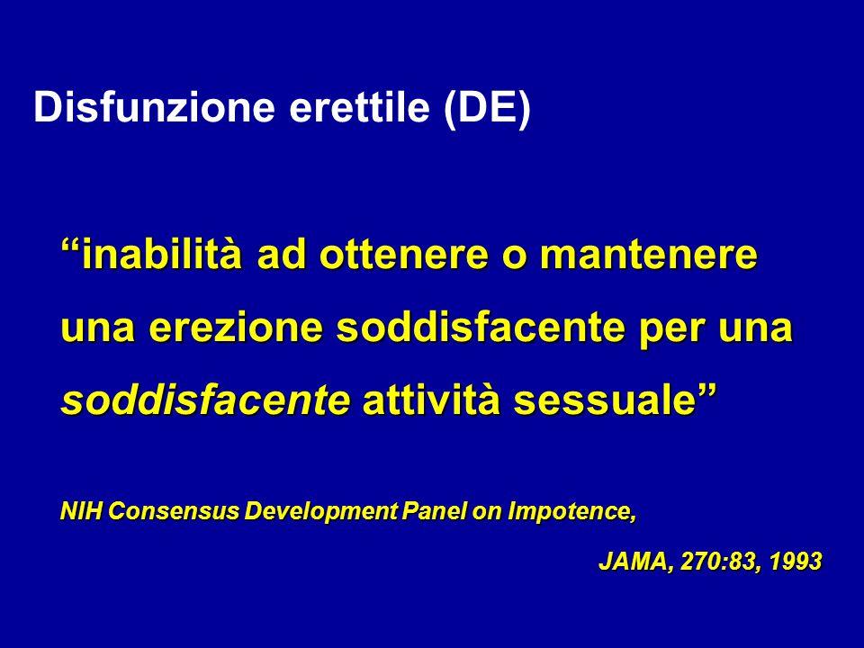 DISFUNZIONE ERETTILE EDINFERTILITA' C.