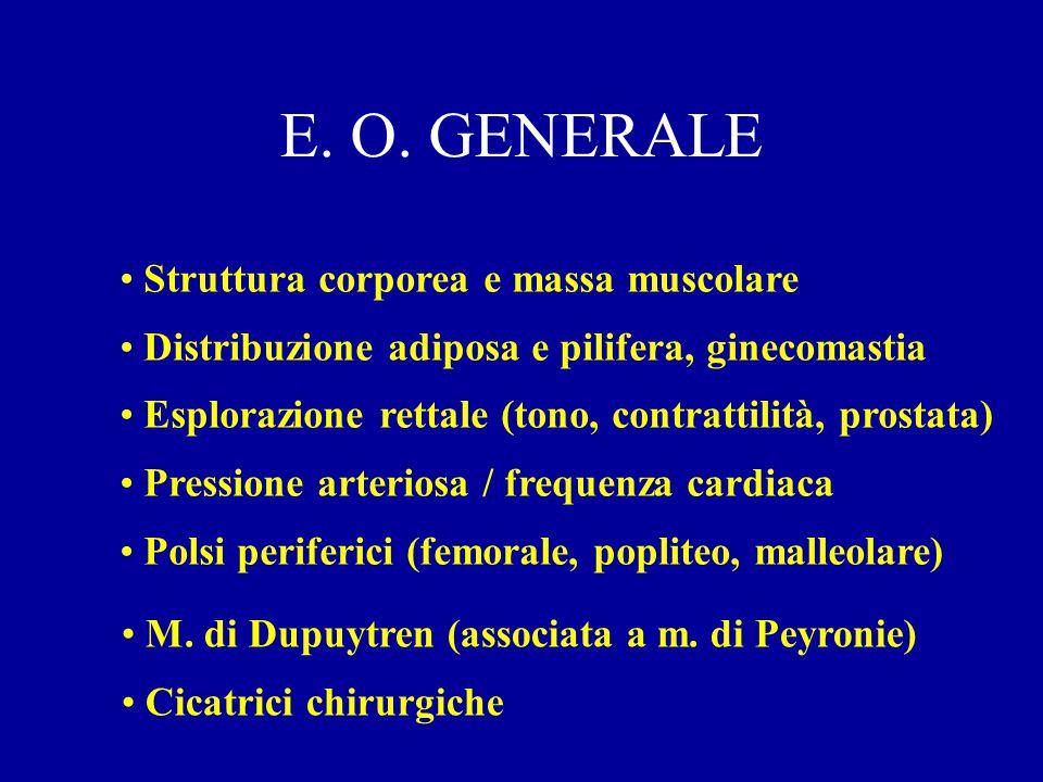 ESAME OBIETTIVO GENERALE GENERALE GENITALE GENITALE