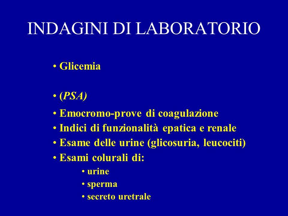 DIAGNOSI Anmnesi Esame obiettivo Indagini di laboratorio Indagini strumentali I livello II livello
