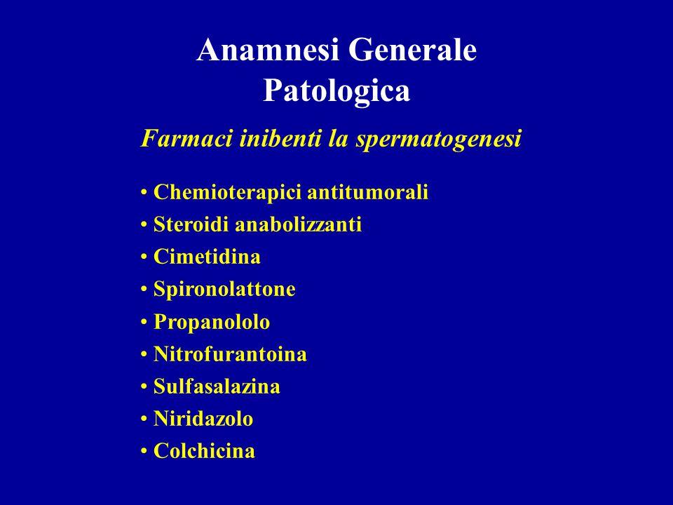 Medica Traumi spinali Patologie demielinizzanti Patologie croniche sistemiche (diabete mellito- infez.