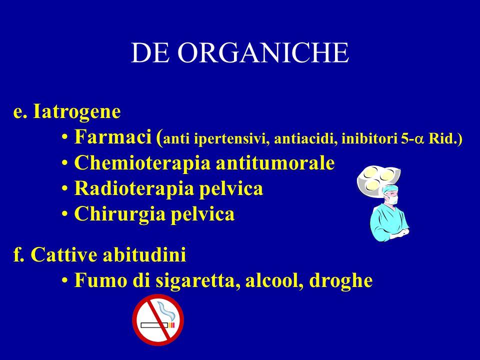 DE ORGANICHE c.Neurologiche Lesioni midollari - Sdr.