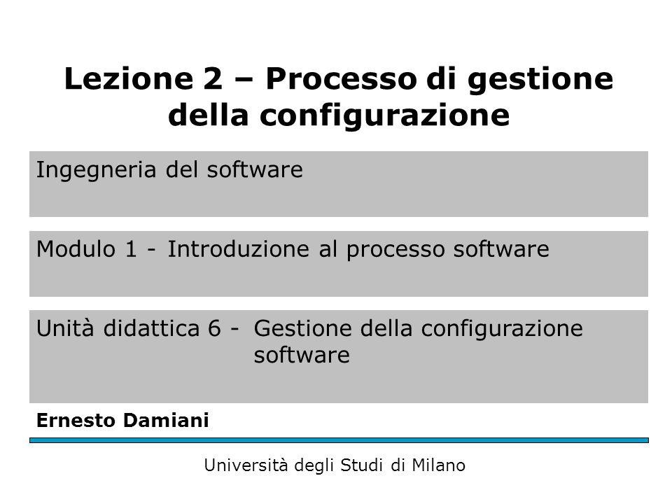 Process Management Esempio di flussi di sviluppo, test (risoluzione dei problemi) e rilascio