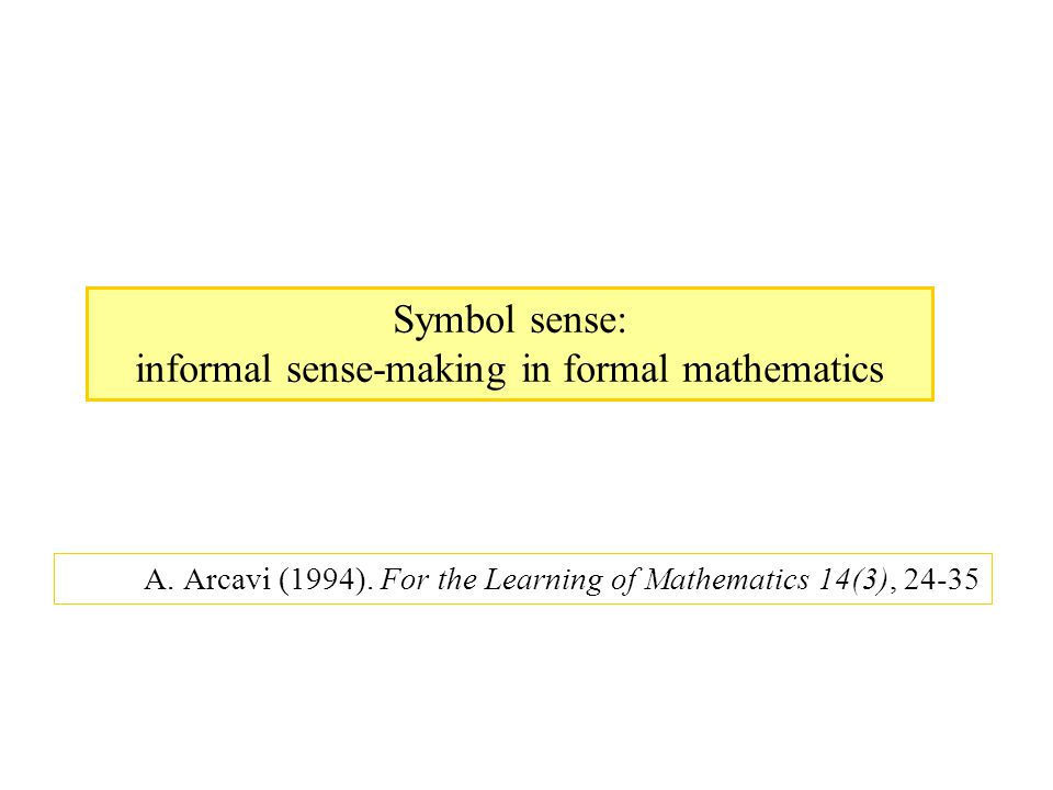 La forma algebrica dell'enunciato invita ad utilizzare l'algebra per risolvere il problema.