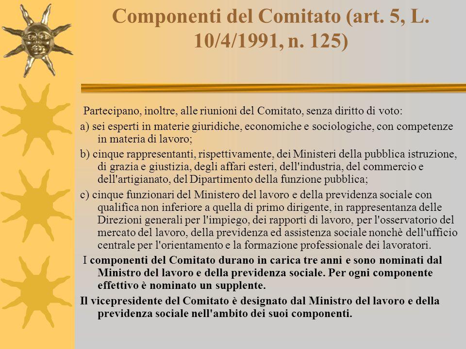La commissione oggi  Il decreto legislativo 31 luglio 2003 n.