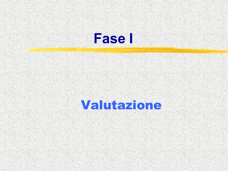 Fase I Valutazione