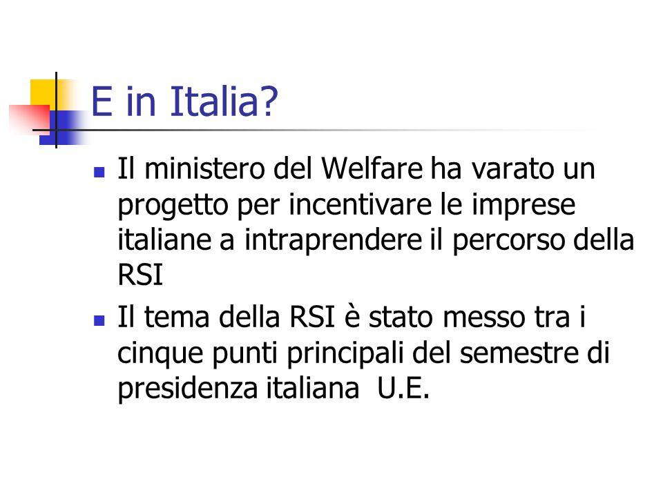E in Italia.