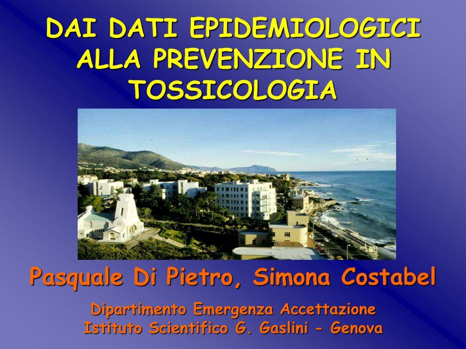 Studio SMAB 1975-1990 Risultati Chiossi Gaslini et al. 6175 Bambini esposti: solo 8 decessi